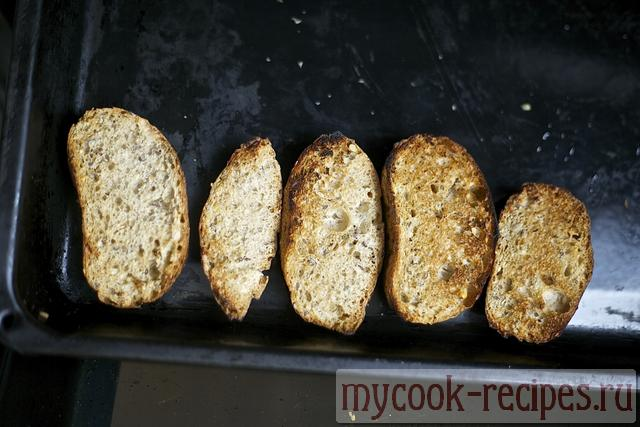 allow bread to be reddened slightly