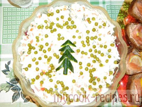 Торт оливье рецепт с фото