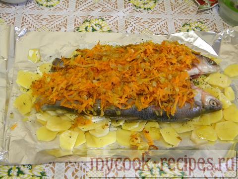 Рыба в духовке рецепт сырок