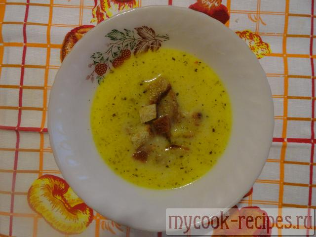 Recipe onion soup with cheese