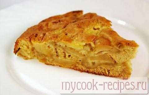 рецепт яблочной шарлотки с корицей